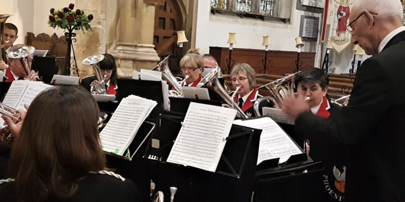 Phoenix Brass In Concert at St Lawrence Church, Hungerford