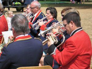 Back row cornets at Bowood