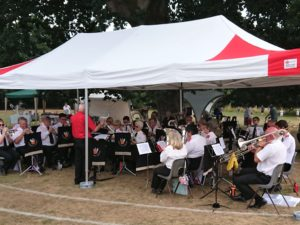 The Band at The Avenue Day Nursery 10th Anniversary Fete