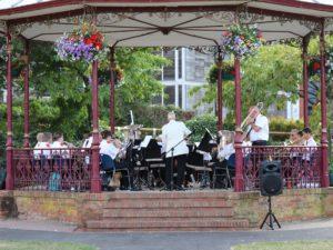 Phoenix Brass at Victoria Park Bandstand