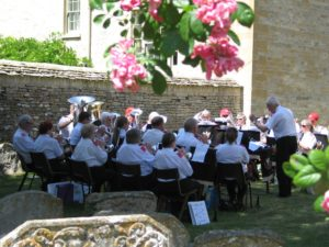 Band at Bibury Fete