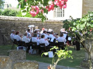Band at Bibury Fete
