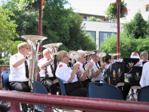 Basses & Horns at Victoria Park Bandstand