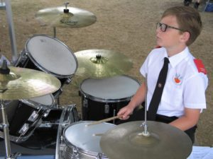 Charlie on Percussion