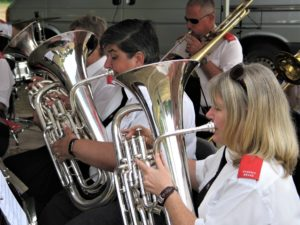 Helen and Liane on Euphonium