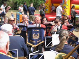 Front row cornets at Bowood
