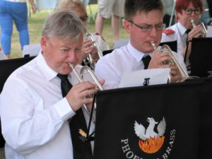 Jonathan & David from Ramsbury Band
