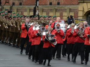 Phoenix Brass at Marlborough Remembrance