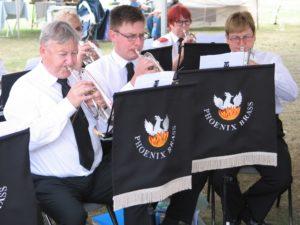 The Trio of Ramsbury Band Cornet Players