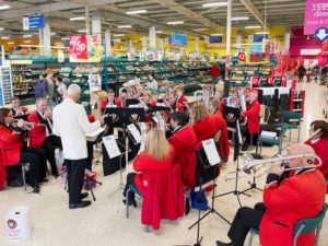 Tesco, Tidworth for Remembrance - November 2016