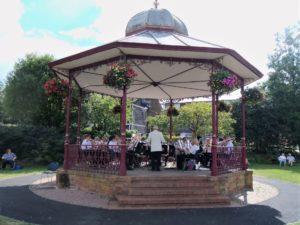 Victoria Park Bandstand - August 2017
