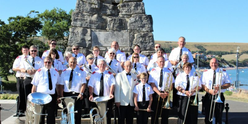 """Trip to Swanage to support the """"Friends of Swanage Bandstand"""" – August 2018"""