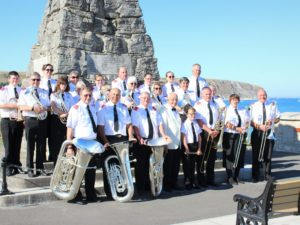 Band Photo at Swanage