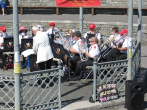 Band at Swanage