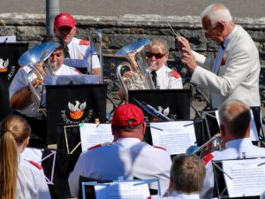 Phoenix Brass at Swanage