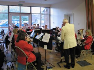 Band at Bouverie Hall