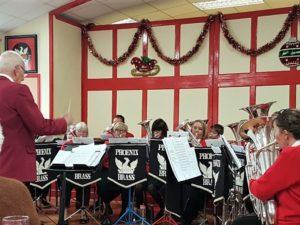 Training Band Christmas Coffee Morning