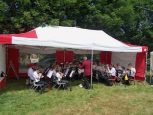 Training Band at Froxfield Music & Beer Festival