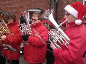 Carol Playing in Marlborough - December 2016
