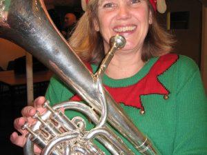 Caroline Peck at Woodborough Gateway Club - December 2016