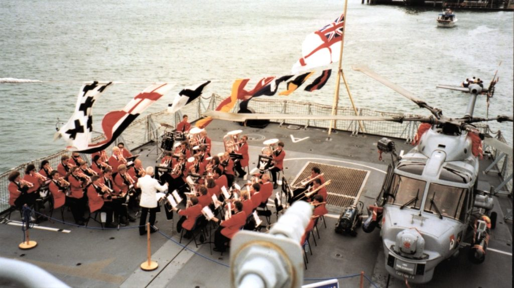 Band on HMS Marlborough