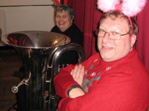 Steve Hutchins at Woodborough Gatewayatway Club - December 2016