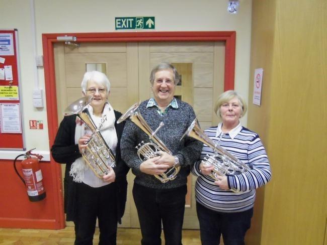 Three new tenor horns