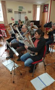 Training Band Rehearsal