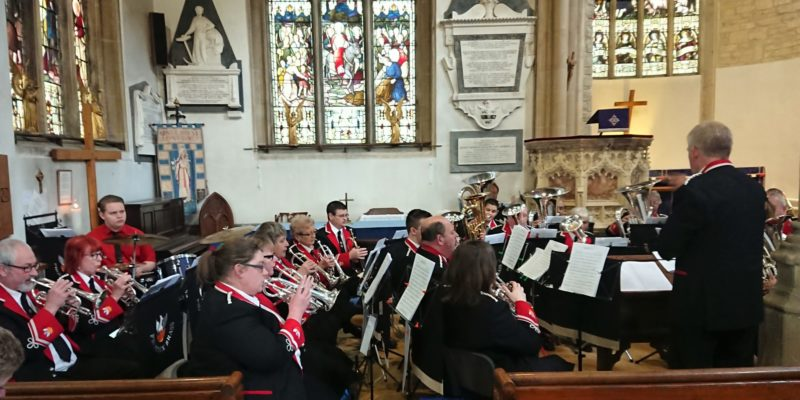 Concert with The Cromwell Singers at St Lawrence Church, Hungerford – March 2019